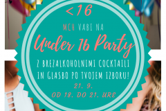Under 16 Party 2018