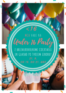 Under 16 party